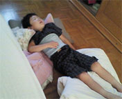 syoei寝る