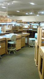 収納できる学習机
