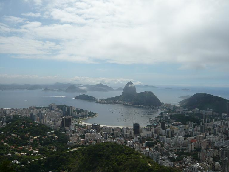 リオの街並み