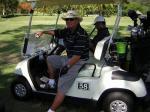 ゴルフコンペ中