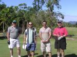 ゴルフコンペの仲間たちと