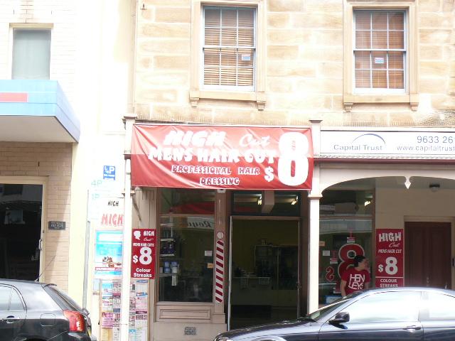 パラマタの散髪屋