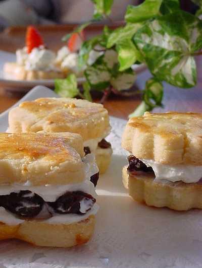 レーズン クッキー サンド