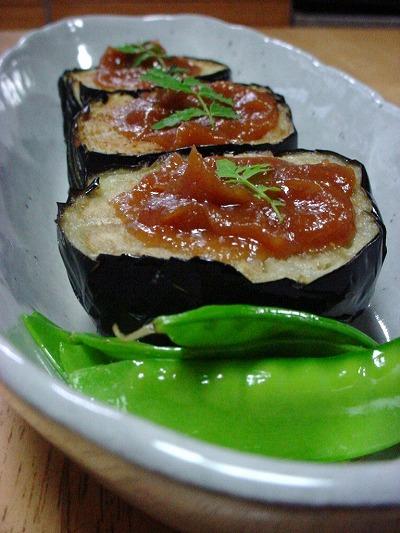 米茄子の味噌田楽