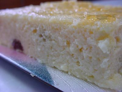 豆腐チーズケーキ2