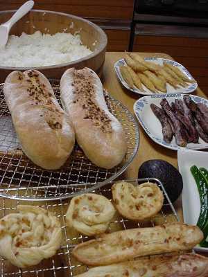 寿司とフランスパン