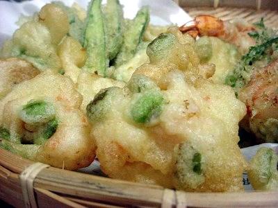 枝豆の天ぷら