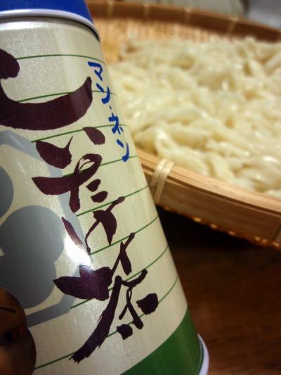 うどん シイタケ茶