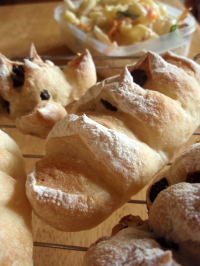 ソフトフランスのブドウパン