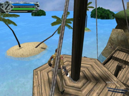 GunZ_Island_船上の盾
