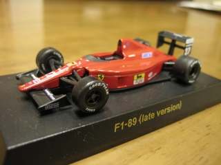 F1-89(late version) No.27:N.MANSELL