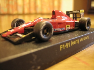 F1-91(early version) No.27:A.PROST