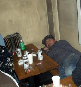 酔っ払いの居る風景2