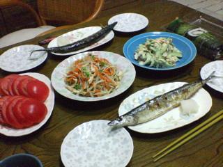20070831夕飯