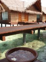 フドゥランフシ☆水上コテージの様子