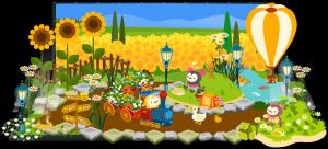 08.06.01ひまわり畑でピクニック