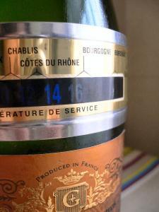 ワイン温度計