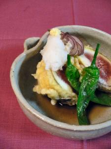 イチジクの天ぷら