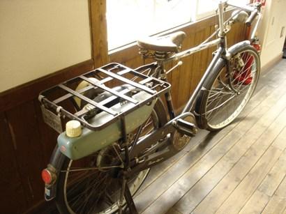 エンジン搭載自転車
