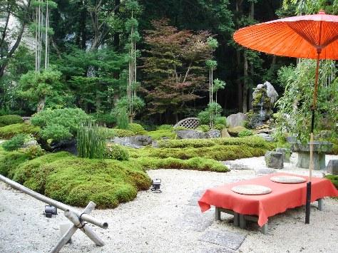 猿投温泉の庭園