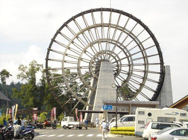 日本一大きい水車?