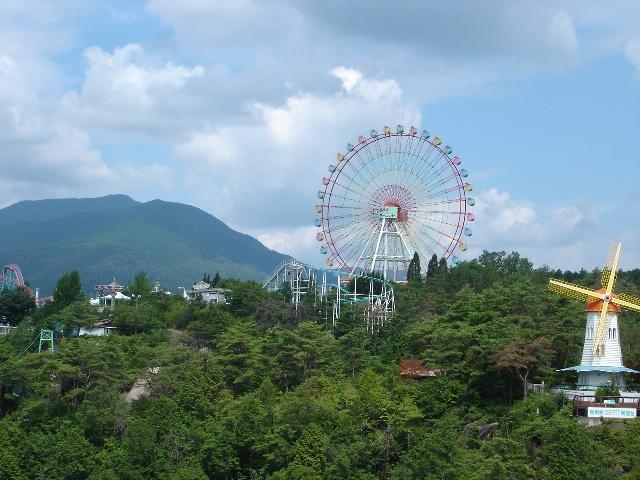 恵那峡ランドと笠置山