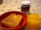 朝のベース食