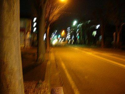 夜景ー手ブレ