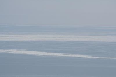 スカイタワーから見える流氷2