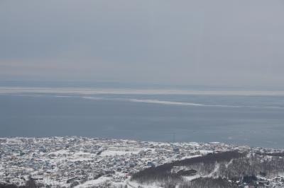 スカイタワーから見える流氷1