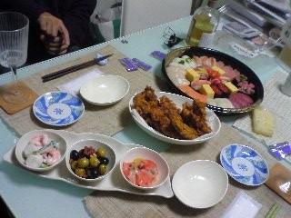 23日ディナー②