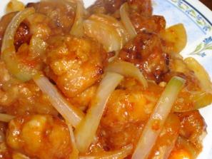 鶏唐チリソース