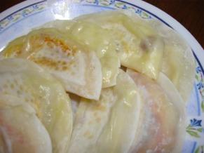 餃子皮ピザ(チーズ)