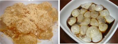 わらび餅-きな粉