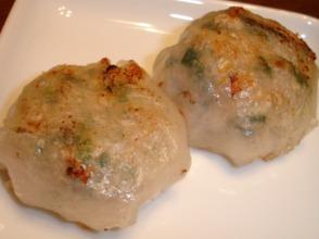 ニラ饅頭(焼き)
