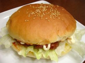 ハンバーガー(照り焼き)