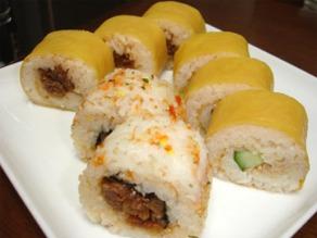巻き寿司ヨーグルト