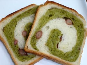 食パン(抹茶小豆)