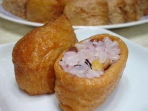 稲荷寿司十五穀米