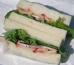 ツオップ(ZOPF)サンドイッチ