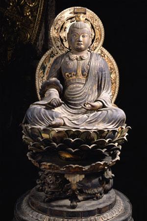 興福寺-文殊菩薩坐像3