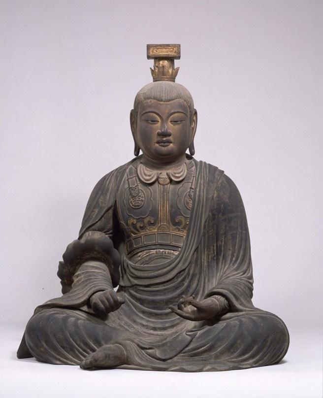 興福寺-文殊菩薩坐像4