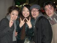2008.2.9伊藤さん結婚式 002新郎新婦と