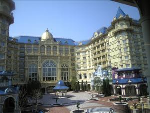 ホテルの正面