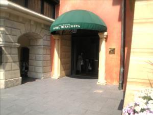 ホテルの出口