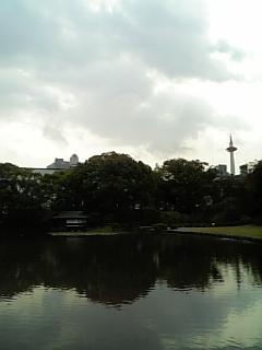 渉成園 京都タワー