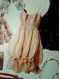 SPUR 1月号♪ ドゥーズィエム クラス青山店(ロサス) シルクドレス