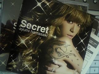 浜崎あゆみ Secret (DVD付き♪)