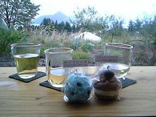 glass cafe gla_gla  吹きガラス体験 キャンドル