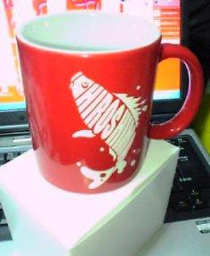 鯉マグカップ